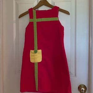Girl's Corduroy Sheath dress